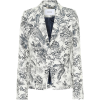 ERDEM Iris printed cotton-blend blazer - Suits -