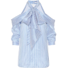ERDEM Striped silk top - Camicie (lunghe) -