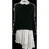ERMANNO SCERVINO asymmetric layered dres - sukienki -