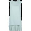 ERMANNO SCERVINO pleated-hem shift dress - Vestiti -