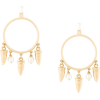 ESHVI Hula Hoops earrings - Earrings -