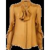 ETRO Chiffon tie blouse - Shirts -