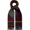ETRO Colour-block paisley cashmere-blend - Szaliki -