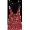 ETRO Jacquard and velvet mini dress - Vestiti - 1,235.00€