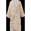 ETRO Malva paisley-print silk robe - Giacce e capotti -