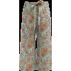 ETRO  Paisley-print wide-leg cropped sil - Capri & Cropped -