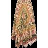 ETRO Paisley wool and silk skirt - Skirts -