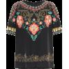 ETRO Printed silk top - Shirts -
