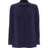 ETRO Silk-crêpe blouse - Long sleeves shirts -