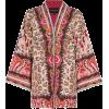 ETRO embroidered trim kimono - Cardigan -