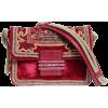 ETRO embroidered velvet bag - Hand bag -