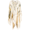 ETRO floral embroidered poncho - Cardigan -