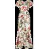 ETRO floral print ruffled dress $1,760 - Vestidos -