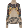 ETRO oversized jacquard sweater - Pullovers -