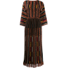 ETRO panelled long dress - sukienki -