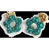 Earrings Green - Earrings - $2.01  ~ £1.53