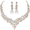 Earring and Necklace Set - Kolczyki -