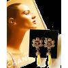Earrings - People -