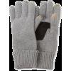 Echo Design Men's Cashmere Echo Touch Glove with Palm Patch Grey - Gloves - $39.00