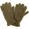 Echo Design Men's Marled Knit Glove with Fleece Lining Olive - Gloves - $16.00