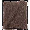 Echo Design Men's Marled Neck Warmer with Fleece Lining Dark Brown - Sciarpe - $28.99  ~ 24.90€