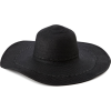 Echo Design Women's Braided Floppy Hat Black - Hat - $29.40