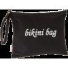 Echo Design Women's Canvas Bikini Bag Black - Bag - $20.00