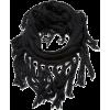 Echo Design Women's Chunky Merino Neck Ring with Fringe Black - Scarf - $34.00