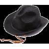 Echo Design Women's Fedora With Ties and Adjustable Brim Black - Hat - $34.99
