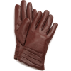 Echo Design Women's Leather Pleated Cuff Glove with Cashmere Blend Coffee - 手套 - $16.34  ~ ¥109.48