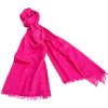 Echo Design Women's Lightweight Solid Wrap with Silk Protein Hot Pink - Scarf - $68.60