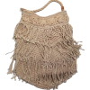 Echo Bags | Macrame Fringe Bag - Hand bag -