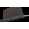 Smeđi retro šešir - Cappelli -