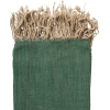 El Fenn green handmade throw - Furniture -