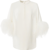 Elie Saab Feather Embellished Cady Blous - Camisas -