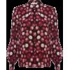 Elisa Silk Blouse In Raspberry - Camisas - $290.00  ~ 249.08€