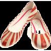 Elite Goby Circus Stripe Ballerina Flats - Балетки -