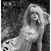Elle Fanning black & white photo - Uncategorized -