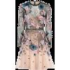 Embellished Tulle Dress elie saab - ワンピース・ドレス -