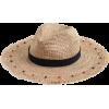 Embellished packable straw hat - Cappelli -