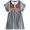 Embroidered Blouse - Tunike -