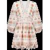 Embroidered Cotton Minidress - Zimmerman - Dresses -