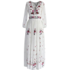 Embroidered dress - Dresses -