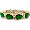 Emerald Green Bracelet - Zapestnice -