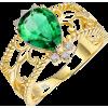 Emerald Ring - Rings -