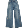 Emma High-Rise Wide-Leg Cropped Jeans - Jeans - $395.00