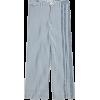 Emmett Wide-Leg Crop Pants in Herringbon - Capri-Hosen - $95.00  ~ 81.59€