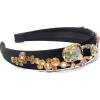Enamel Glaze Forest Crystal Headband - Paski - $89.80  ~ 77.13€