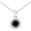 Enhanced Black Diamond Pendant - Colares - $739.00  ~ 634.72€