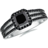 Enhanced Black Diamond Ring - Anelli - $1,049.00  ~ 900.97€
